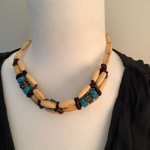 Handcrafted Beaded necklace